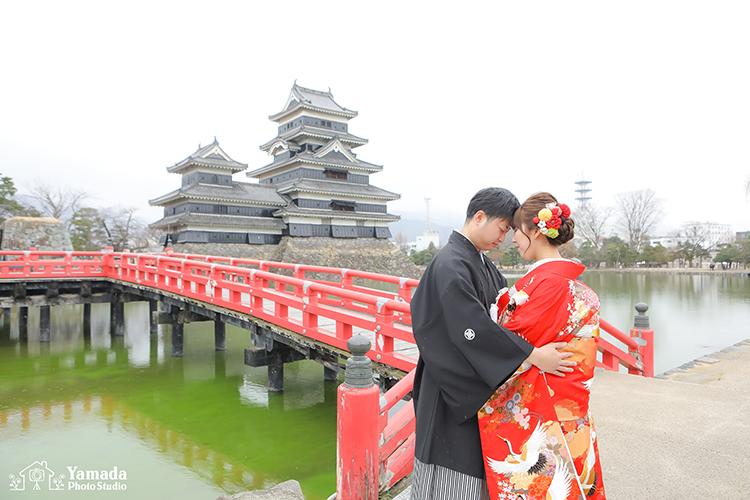 松本城和装
