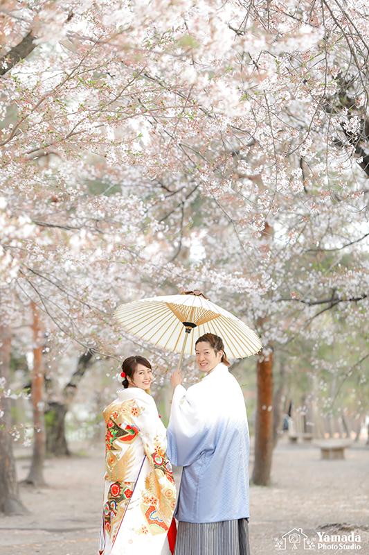 松本城結婚